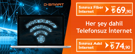 D-SMART Kampanya | İnternet & TV Paketleri | 0 850 480 22 66